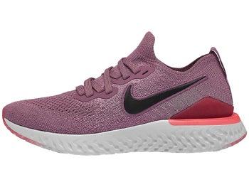 e38bd9e12fd Nike Epic React Flyknit 2 Women s Shoes Plum Dust Black