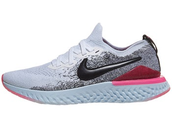 ec1b3fbdd4b Nike Epic React Flyknit 2 Women's Shoes Wht/Blk/Pink