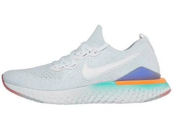 262d22dd5e5ab Nike Epic React Flyknit 2 Women s Shoes White Jade Glow