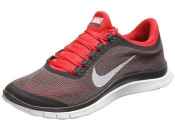 Nike Free 3.0 v5 Mens Shoes Black/Red