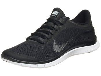 Nike Free 3.0 v5 Womens Shoes Black/Silver/Anth