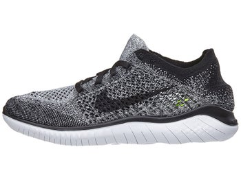 1cef2fd31 Nike Free RN Flyknit 2018 Women's Shoes White/Black