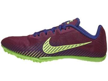 ae28b08bf6049 Nike Zoom Rival M 9 Women s Spikes Bordeaux Purple