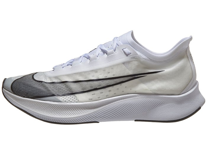 inferencia He reconocido Macadán  Nike Zoom Fly 3 Men's Shoes White/Black/Grey
