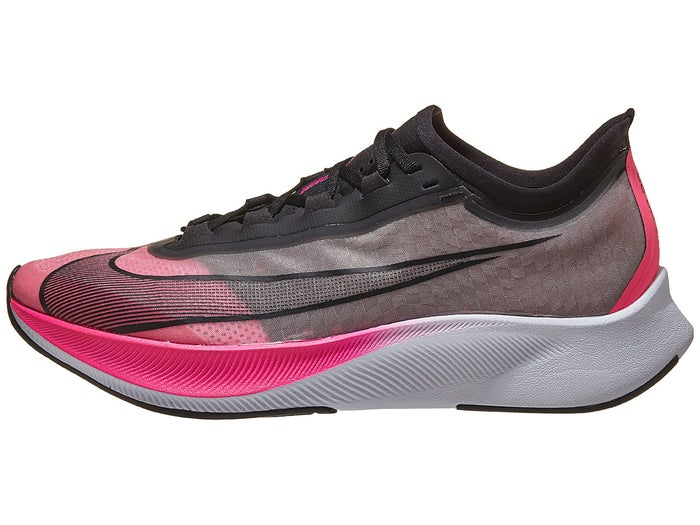 great fit special for shoe buy best Nike Zoom Fly 3 Men's Shoes Pink Blast/Black/Atmosph