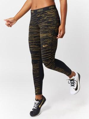 6b4847f35be0e Nike Women's Pro Victory Print Tight Blk