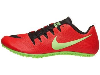 738ec2290563 Nike Zoom Ja Fly 3 Unisex Spikes Red Orbit Black Lime