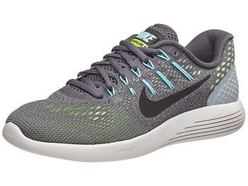 hot sale online 99d7f 4b267 ... Nike LunarGlide 8 Womens Shoes Dark GreyBlackBlue ...