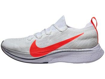 bec75e20168 Nike Zoom Vaporfly 4% Flyknit Unisex White Crimson