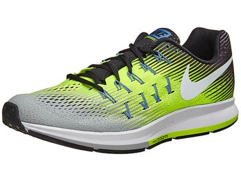 official photos f3ec4 b696b ... nike zoom pegasus 33 silver yellow ...