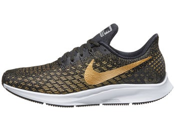 c2d3c8a11ca Nike Zoom Pegasus 35 Women s Shoes Black Gold Gold