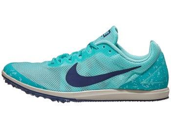 f0c2e5bb4ea46 Nike Zoom Rival D 10 Women s Spikes Aurora Green Blue