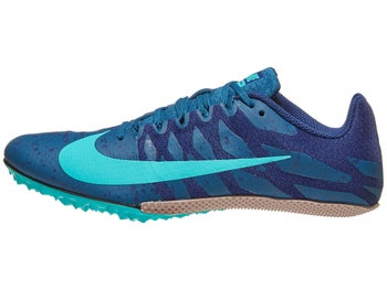 1a330d6a58e8 Nike Zoom Rival S 9 Men's Spikes Blue Force/Jade/Blue