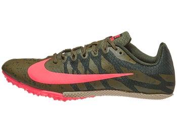 733f6bae43618 Nike Zoom Rival S 9 Men s Spikes Olive Canvas Crimson