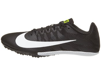 b9b16f260314c Nike Zoom Rival S 9 Men s Spikes Black White Volt