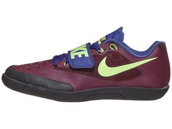 6a68d2c839c6 Nike Zoom SD 4 Unisex Throw Shoes Bordeaux Lime Purple