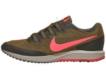 online retailer 8eb84 11eef Nike Zoom Speed Rival 6 Unisex Shoes Olive Flak Crimson