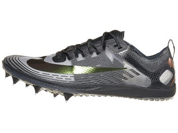 126dca80d Nike Zoom Victory XC 5 Unisex Spikes Black/Silver