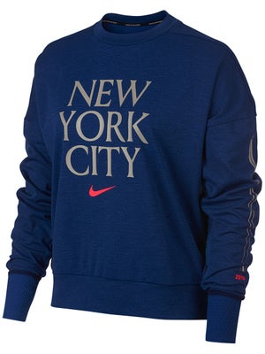a78b6c47 Nike Women's NYC Sphere Element Crew Top 2.0