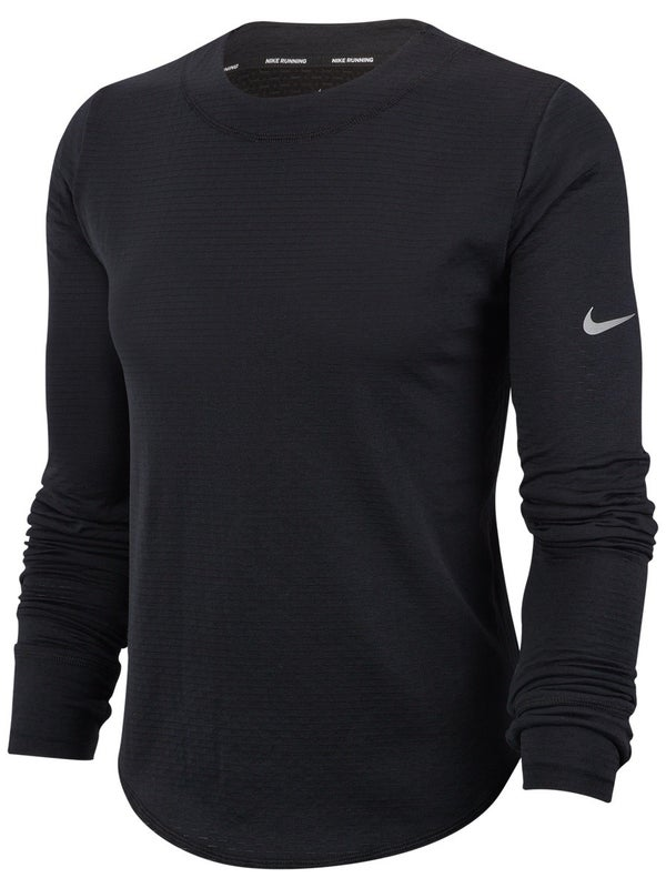 Guarda la ropa Oculto patata  Nike Women's Core Sphere Element Crew Top