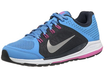 Nike Zoom Elite+ 6 Womens Shoes Blue/Ant/Pink/Silver