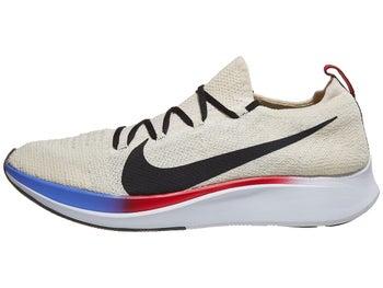 b6d89ffec4476 Nike Zoom Fly Flyknit Men s Shoes Light Cream Black Red