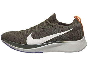 9af37c85b20ac Nike Zoom Fly Flyknit Men s Shoes Sequoia White Olive
