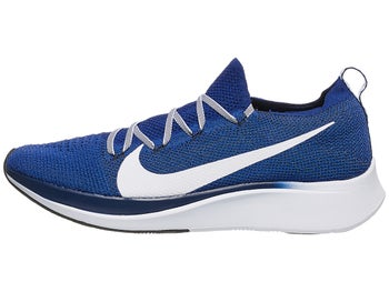8d3384c2894f Nike Zoom Fly Flyknit Men s Shoes Deep Royal White Blue