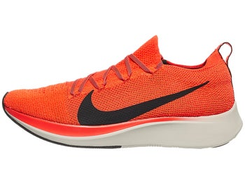 307a42632bf8 Nike Zoom Fly Flyknit Men s Shoes Bright Crimson Black