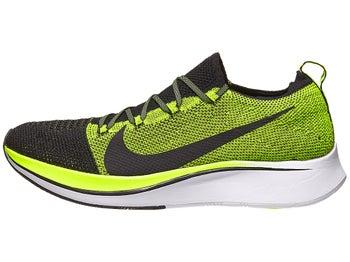 19d4c2d11633 Nike Zoom Fly OG Flyknit Men s Shoes Black Black Volt