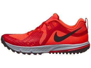 77e16024a56d Nike Zoom Wildhorse 5 Men s Shoes Bright Crimson Black
