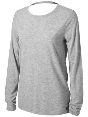 5f2959bb8115d Click for larger view. Reebok Women's Supremium Long Sleeve Tee ...