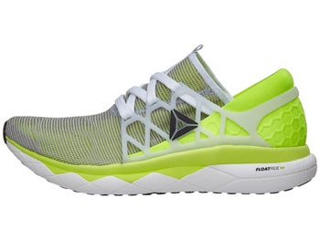 Reebok Floatride Run Flexweave Men s Shoes White Yellow 73b121297
