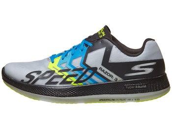 fa3f099d9760 Skechers GOrun Razor 3 Hyper Unisex Shoes Black Gray
