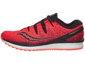 2a0ccc57a9de Saucony Freedom ISO 2 Men s Shoes ViziRed Black
