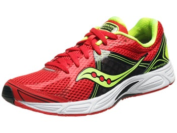 Saucony Fastwitch 6 Mens Shoes Red/Black/Citron