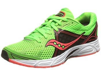 Saucony Fastwitch 6 Womens Shoes Slime/Black/Coral