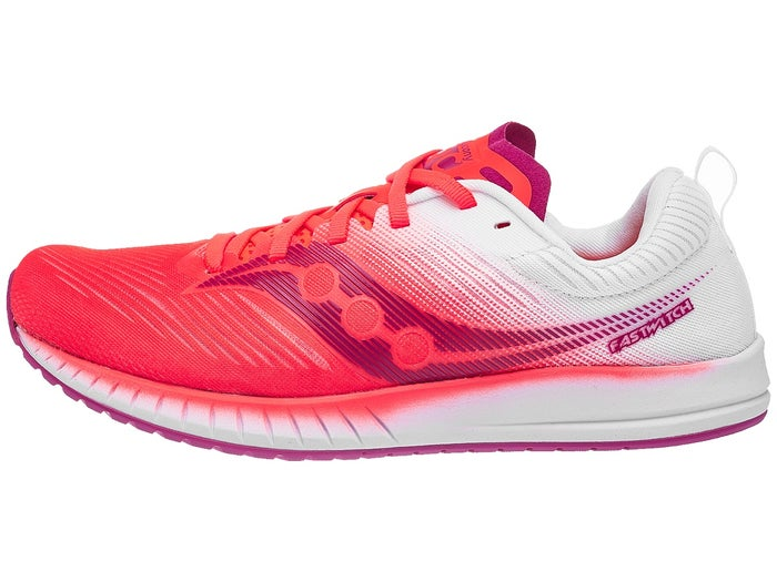 online retailer 096eb 9a811 Saucony Fastwitch 9 Women's Shoes ViziRed/White