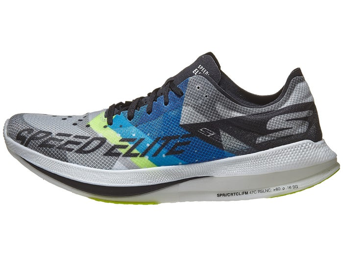 límite consumidor Tentación  Skechers GOrun Speed Elite Hyper Men's Shoes Black/Blue