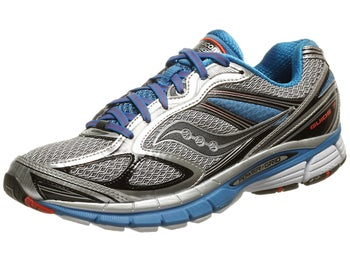 Saucony Guide 7 Mens Shoes Silver/Blue/Black