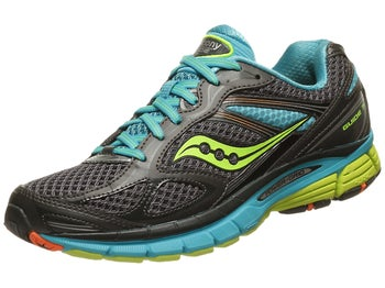 Saucony Guide 7 Womens Shoes Grey/Blue/Citron