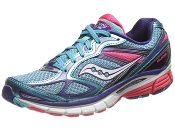 Saucony Guide 7 Womens Shoes Blue/Vizipink