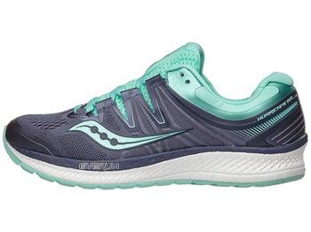 09ad72750370 Saucony Hurricane ISO 4 Women s Shoes Grey Aqua