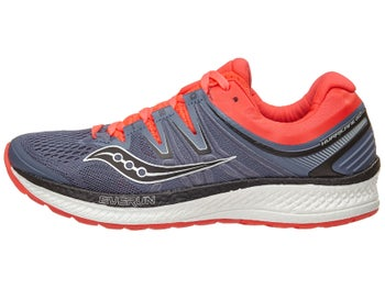 3421d536567f Saucony Hurricane ISO 4 Women s Shoes Grey Black Red