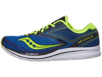 8a4498b36fc0 Saucony Kinvara 9 Men s Shoes Blue Black Citron