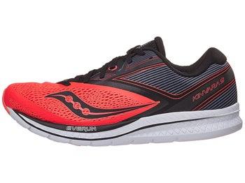 af036ef80aed Saucony Kinvara 9 Men s Shoes ViziRed Black