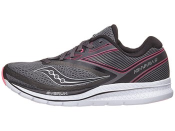 802011a0515 Saucony Kinvara 9 Women s Shoes Grey Black Pink