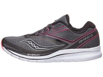 47147379028a Saucony Kinvara 9 Women s Shoes Grey Black Pink