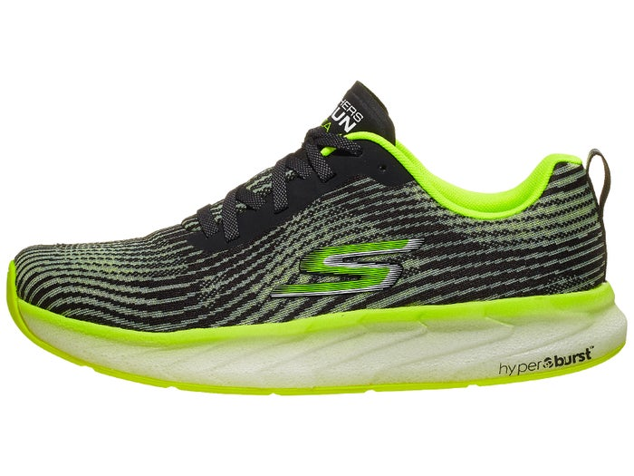 celos Acción de gracias canal  Skechers GoRun Forza 4 Men's Shoes Black/Lime