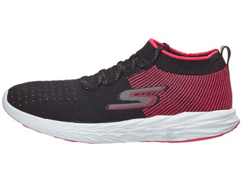 c92561dc33af Skechers GOrun 6 Women s Shoes Black Hot Pink